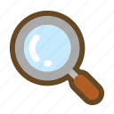 analysis, find, inquiry, investigation, magnifier, search, zoom icon