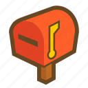 mail, game, post, mailbox, communication, message, email icon