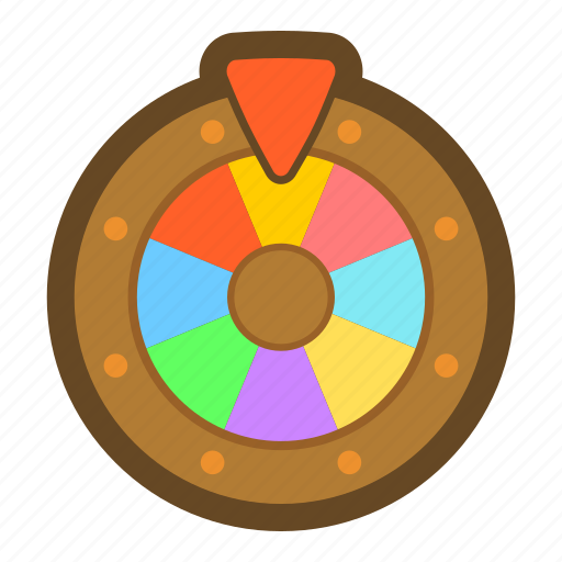 Draw, game, giveaway, lottery, roulette, casino, play icon - Download on Iconfinder
