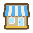 sell, shop, salon, buy, game, store, shopping icon