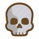 dark, dead, death, die, game, ruin, skull icon