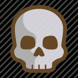 dark, dead, death, die, game, ruin, skull icon