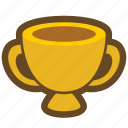 trophy, ranking, win, award, game, medal, winner icon