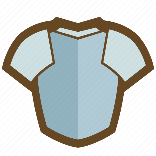 armor, defense, equipment, knight, plate armor, protect, top icon