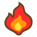 blast, element, explosion, fire, flame, magic, burn icon