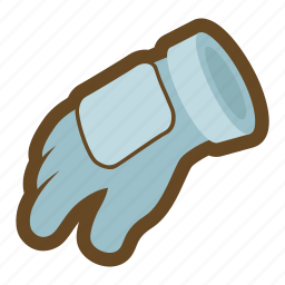 armor, defense, equipment, glove, knight, plate armor, protect icon