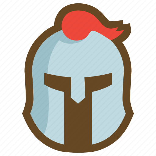Defense, equipment, helm, helmet, knight, plate armor, protect icon - Download on Iconfinder