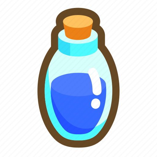 beverage, energy, game, mana, mp, potion, recovery icon