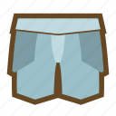 defense, equipment, knight, pants, plate armor, protect, safety icon