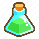 beverage, drink, game, poison, potion, recovery, stamina icon