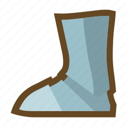 defense, equipment, knight, plate armor, protect, protection, shoe icon