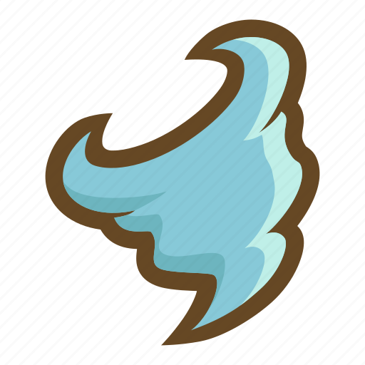 element, magic, storm, tempest, tornado, weather, wind icon