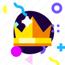 adaptive, crown, game, ios, isolated, king, material design