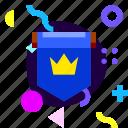 adaptive, badge, flag, game, ios, isolated, material design icon