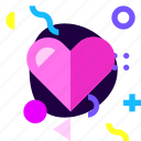 adaptive, game, heart, ios, isolated, love, material design icon