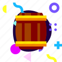 adaptive, drum, game, ios, isolated, material design, wooden drum icon