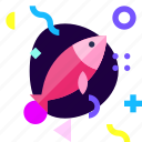 adaptive, fish, game, ios, isolated, material design icon