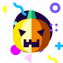 adaptive, game, halloween, ios, isolated, material design, pumpkin icon
