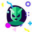 adaptive, alien, game, ios, isolated, material design icon