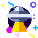 adaptive, game, ios, isolated, material design, space, ufo icon