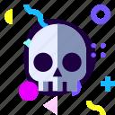 adaptive, game, horor, ios, isolated, material design, skull icon