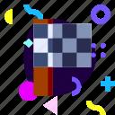 adaptive, flag, game, ios, isolated, material design, race flag icon