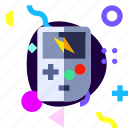 adaptive, game, game boy, ios, isolated, material design icon