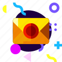 adaptive, envelope, game, ios, isolated, material design, message icon