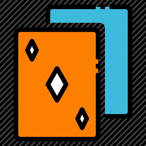 Card, diamond, gambling, game, poker icon - Download on Iconfinder