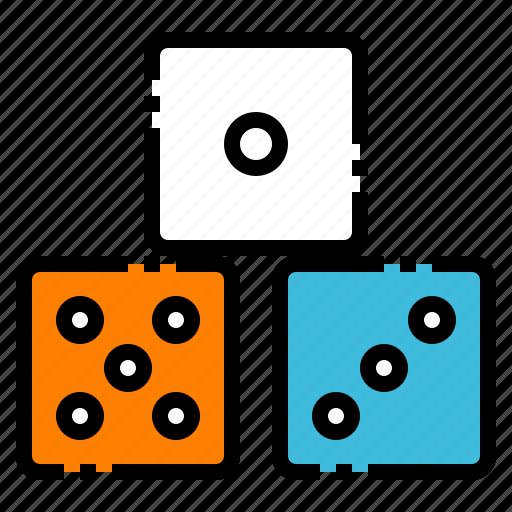 board, casino, dice, gambling, game icon