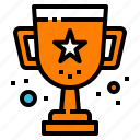 game, reward, trophy, victory, winner icon