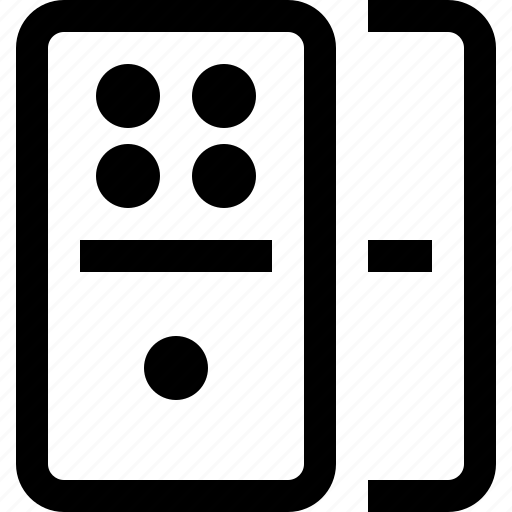 domino, entertainment, game, multimedia, play icon