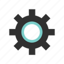 gears, options, settings, tools icon