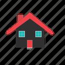 house, building, estate, home icon