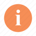 about, i, info, information icon