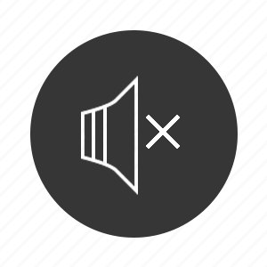 audio, music, off, soundoff icon