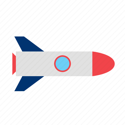 fly, launch, missile, rocket icon