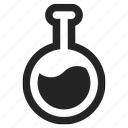 bulb, chemistry, idea, lab, laboratory, light, science, test, testing icon