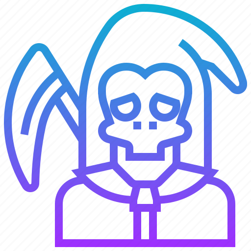 angel, avatar, character, death, devil, evil, monster icon