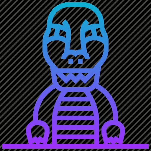 animal, avatar, character, dinosaur, monster icon