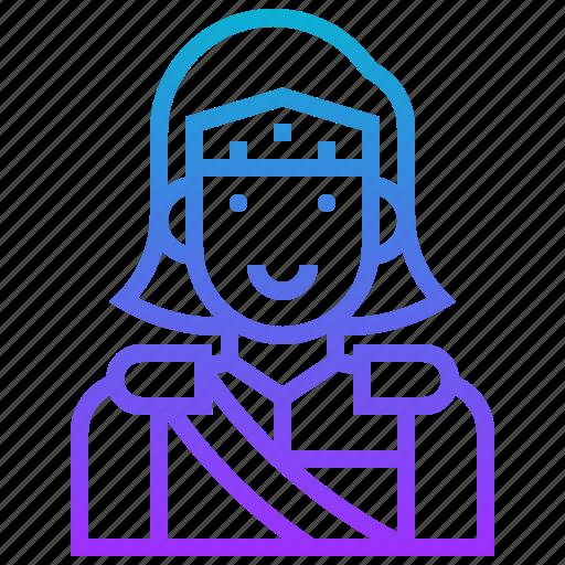 avatar, character, hero, knight, man, prince, warrior icon