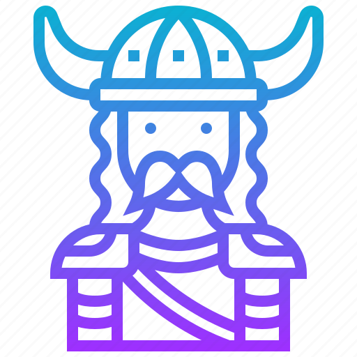 avatar, character, hero, knight, man, viking, warrior icon