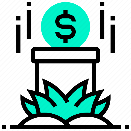 currency, dollar, money, pipe, puzzle icon