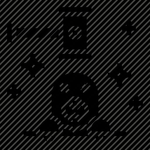 animal, game, hammer, mole icon