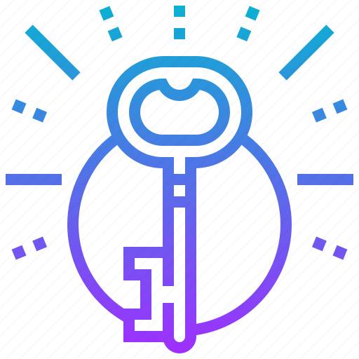 access, key, lock, security, solution icon