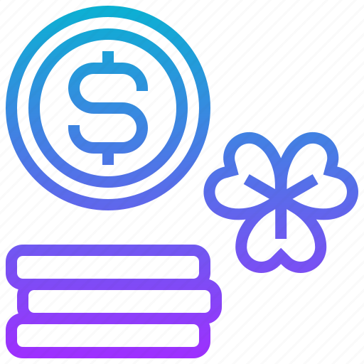 currency, dollar, luck, money icon