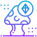 game, life, mushroom, plant icon
