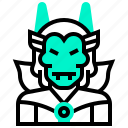avatar, character, devil, evil, man, monster icon