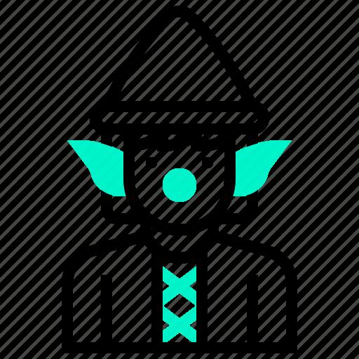 Avatar, character, dwarf, elf, fairy, man icon - Download on Iconfinder