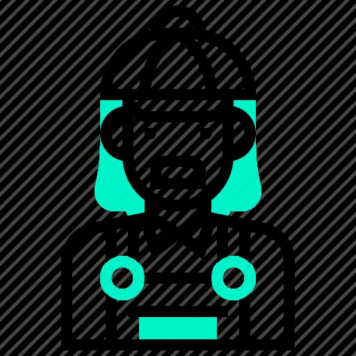 avatar, character, man, merchant icon
